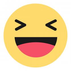 Polskie reakcje Ha ha pod postem Facebook